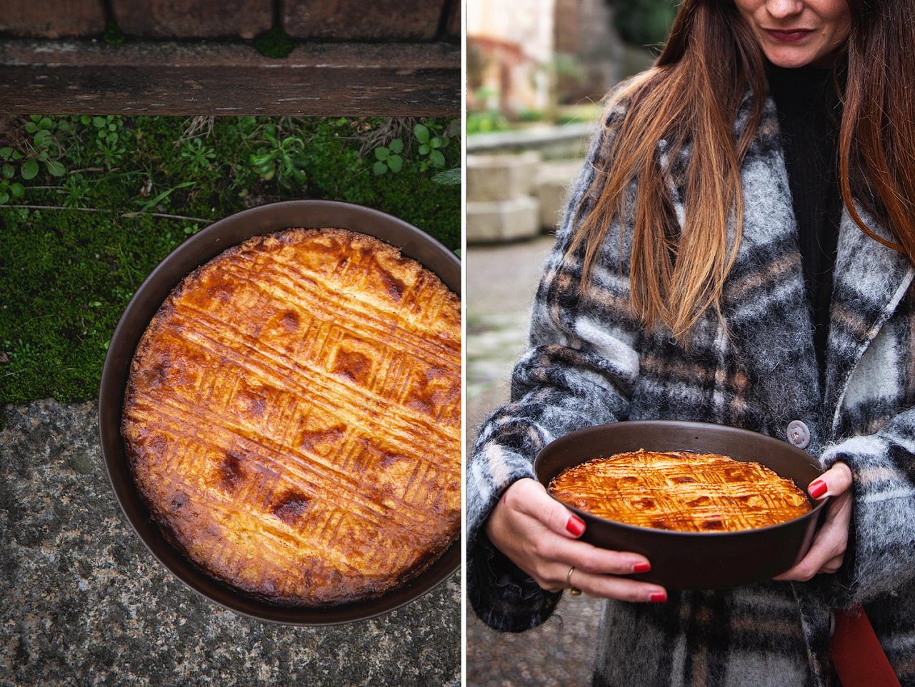 Bretaňský máslový koláč