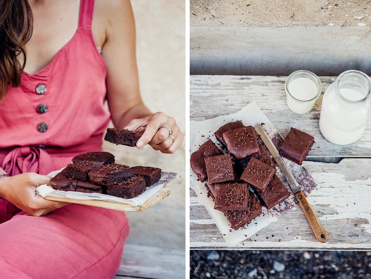 Brownies z kvásku