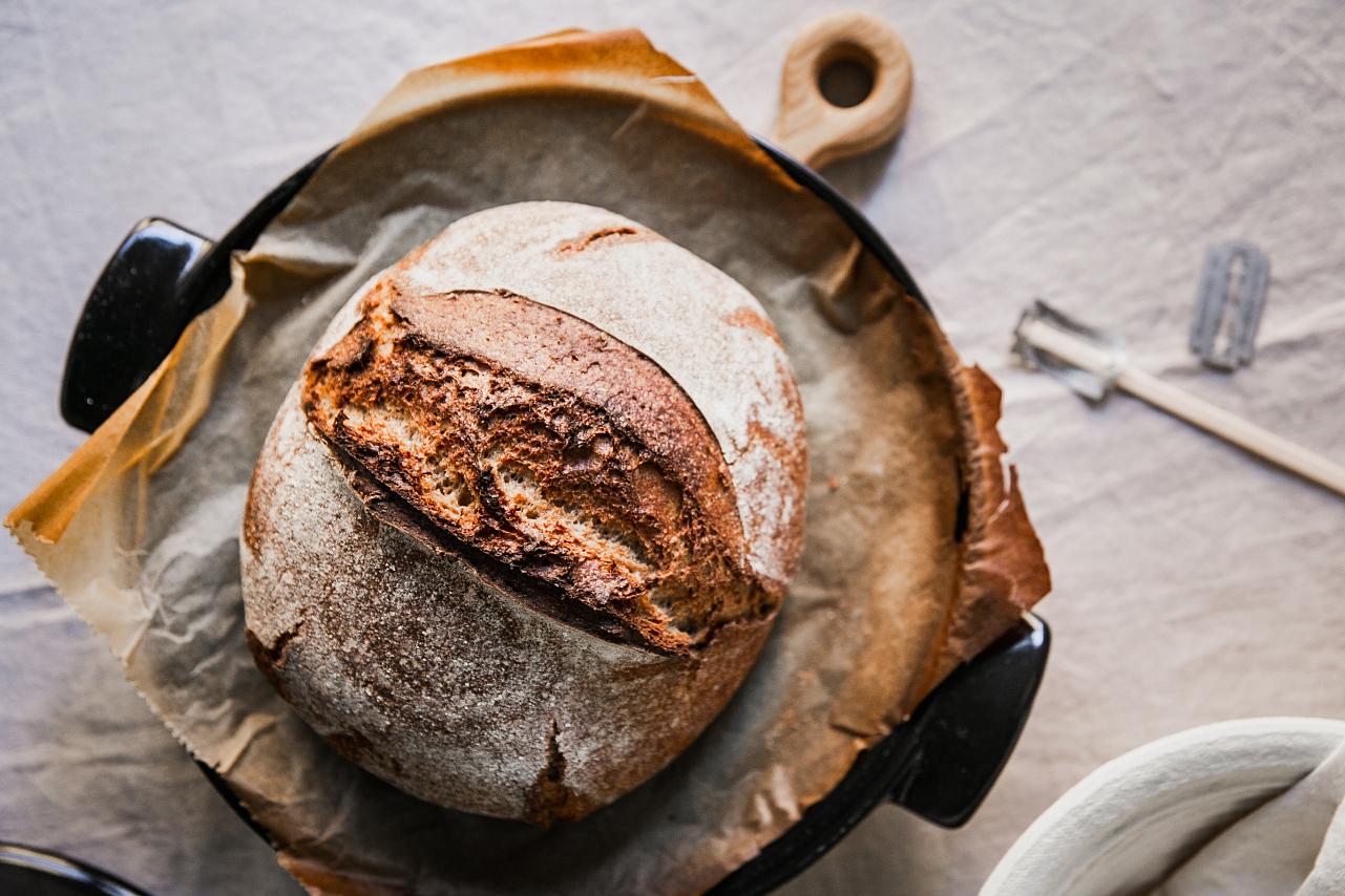 Kváskový chleba pro začátečníky