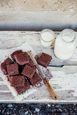 Brownies z kvásku